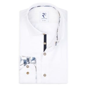 R2 – White Fine Twill Shirt