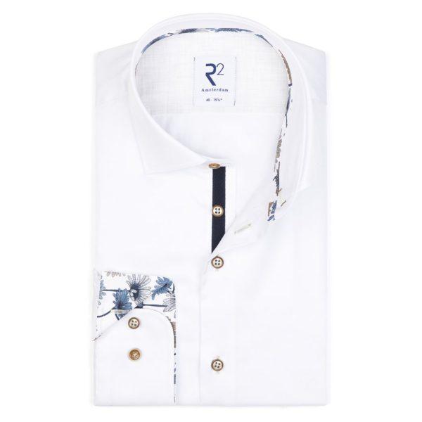R2 – White Fine Twill Shirt