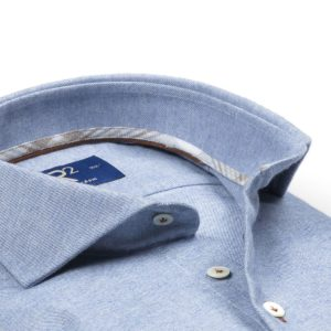 R2 - Blue Steel Cotton & Cashmere Shirt