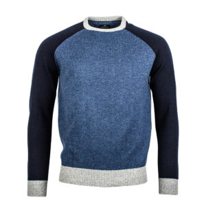 Baileys Navy and light blue Jumper