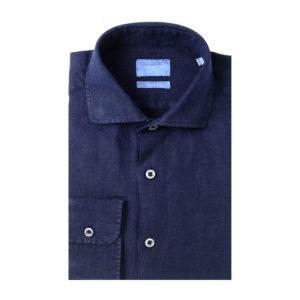 Tresanti - Navy Linen Shirt