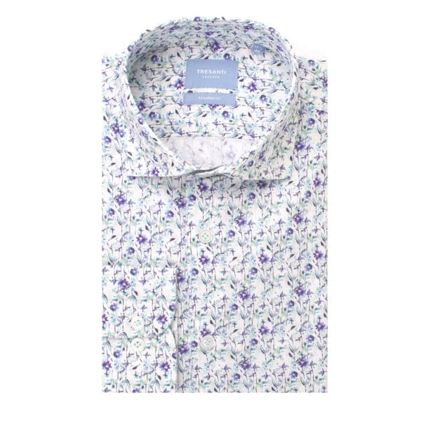 Tresanti – White Floral Shirt