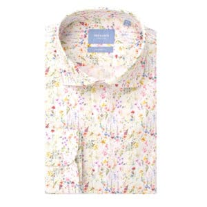Tresanti white shirt small floral design