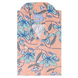 Tresanti - Peach Hawaiian Shirt