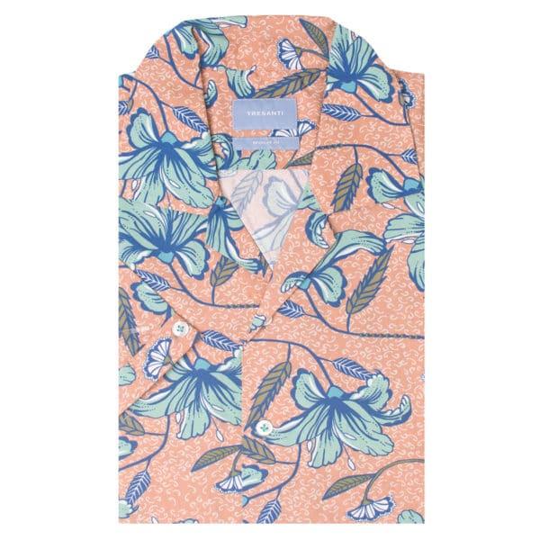 Tresanti - Peach Hawaiian Shirt