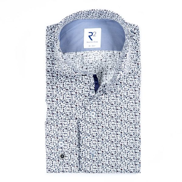 R2 - Blue Patterned Shirt
